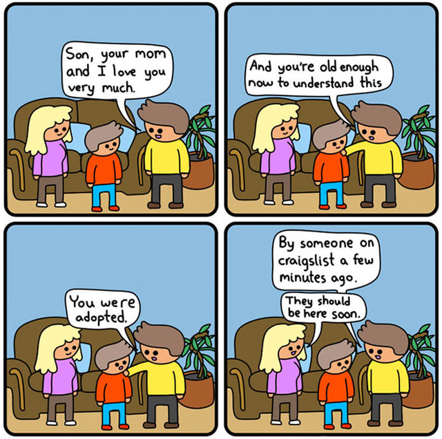 Funny comics with dark endings - Page 3 - Vuing.com