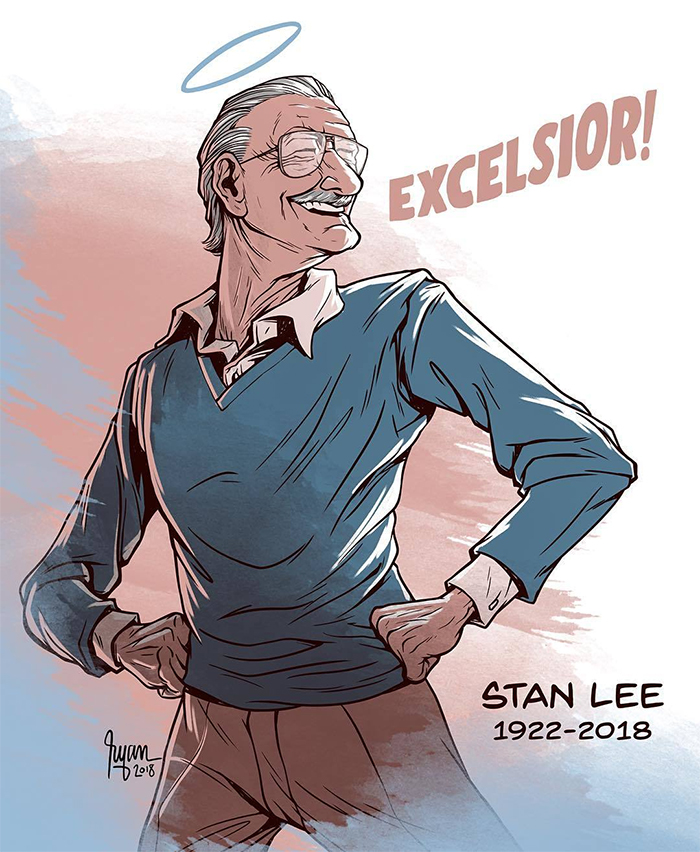 Image result for stan lee artist tribute
