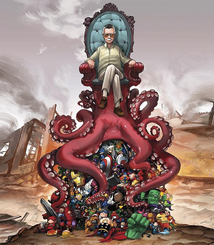 30+ Artist's Tributes Honoring The Legendary Comic Artist