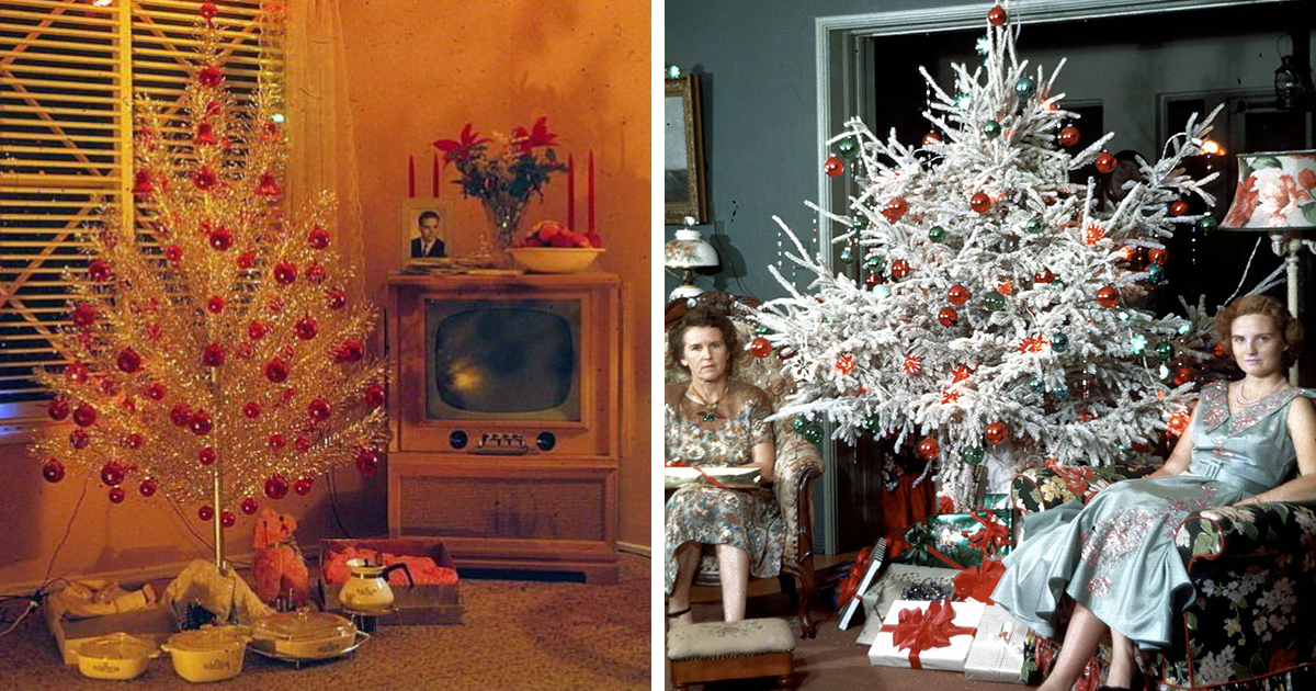 50 Photos Showing How People Used To Decorate Their Homes