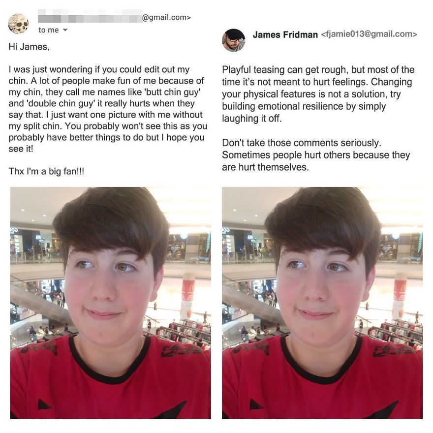 17 Hilarious New Photo Edits From Your Favorite Photoshop Troll James Fridman