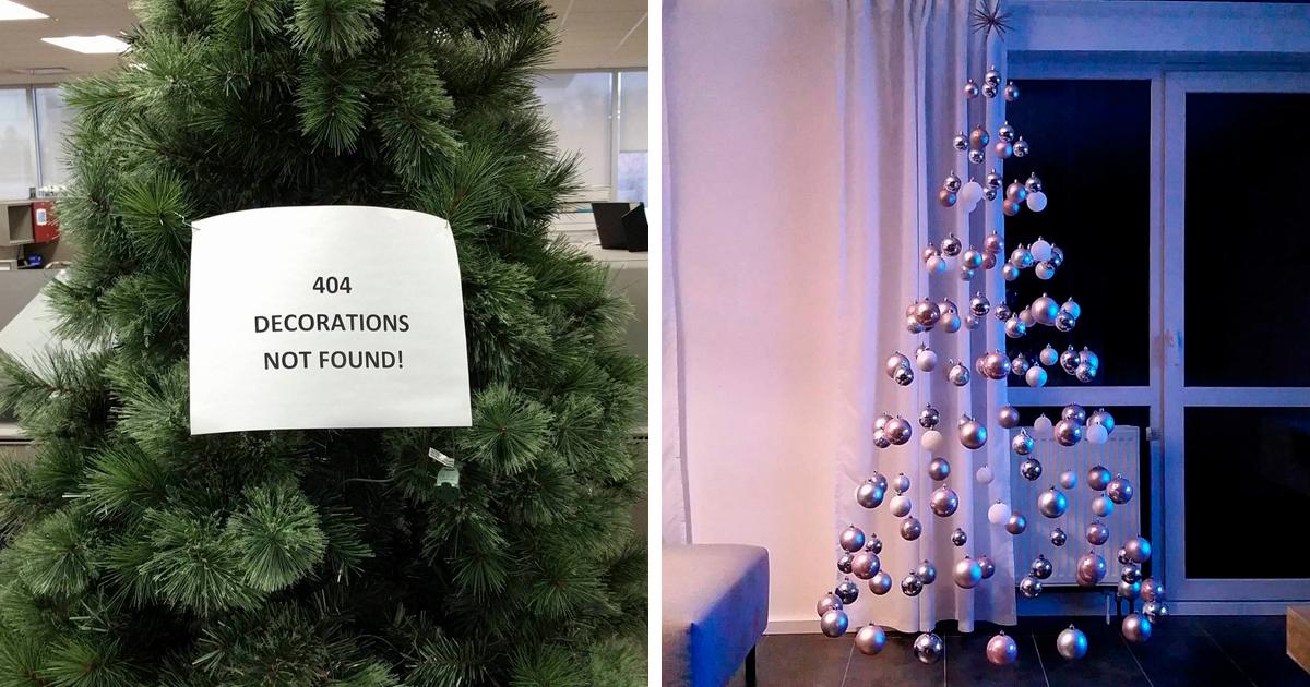 50 Christmas Trees Taken To The Next Level