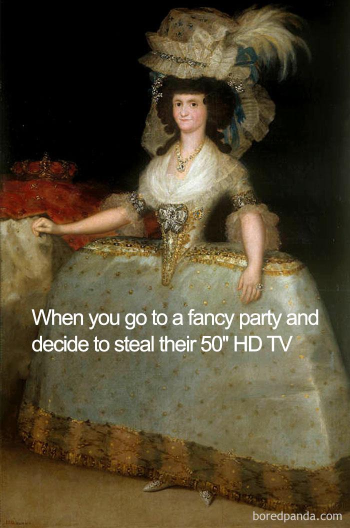 50 Best Classical Art Memes For Art Lovers | DeMilked