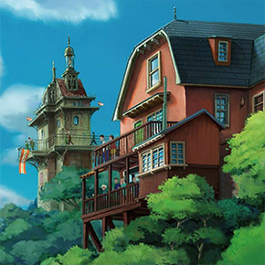 Studio Ghibli Releases 12 Free Backgrounds That You Can Use During Your Conference Calls Demilked