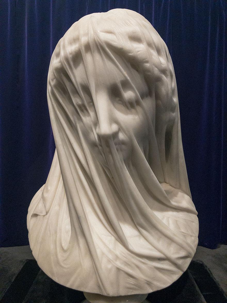 This Intricate 19th Century Sculpture Creates The Illusion