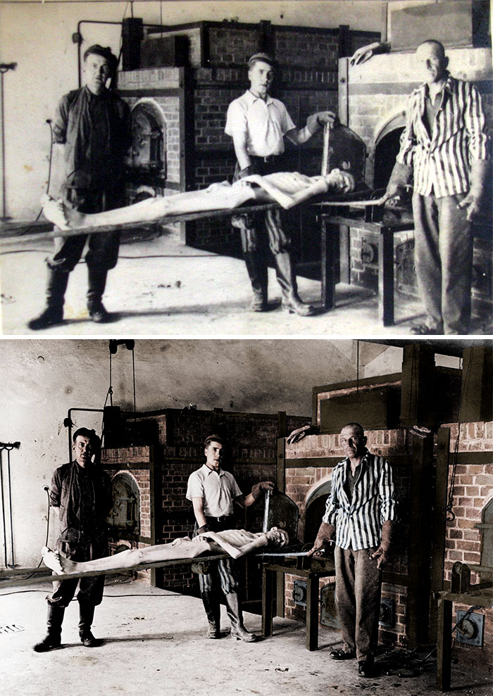 This Artist Colorized 11 Photos Of The Holocaust And It S