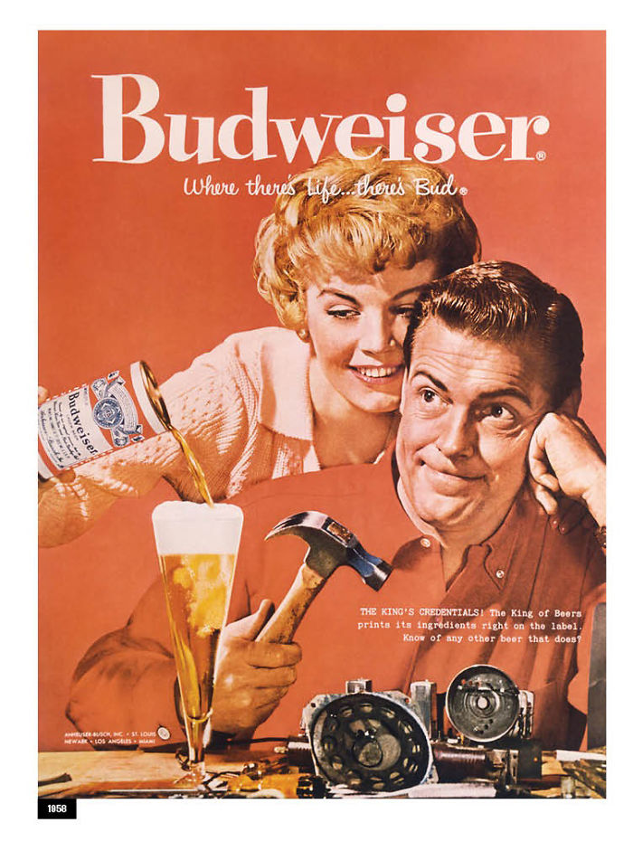 Budweiser Adapted Their Sexist Ads From The 50s And 60s To ...
