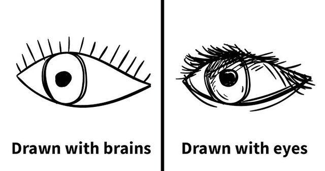 This Artists Brutal Tutorial Will Teach You To Draw Using Your Eyes