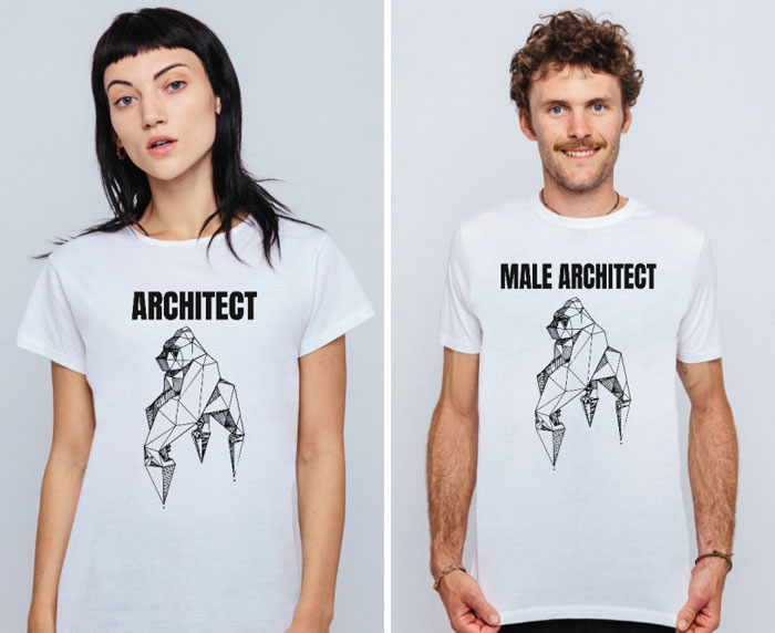 23da05c4 This Company Created A Series Of Satirical T-Shirts That Portray Men ...