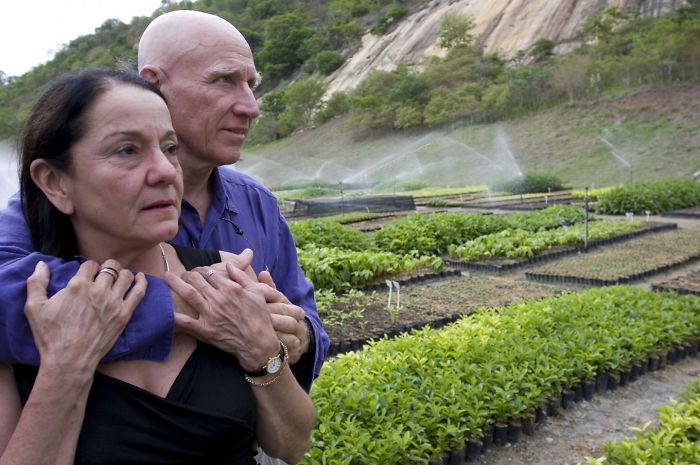 Image result for This Couple Planted Over 2 Million Trees In 20 Years And Made The Animals Return To The Forest