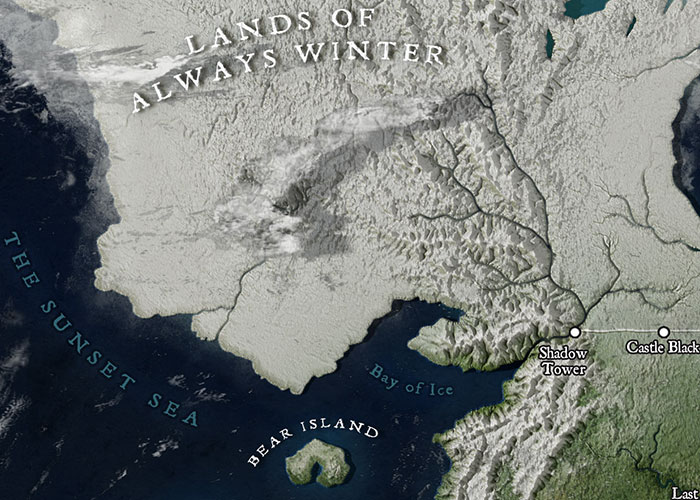 Map Of Westeros Compared To England - Maps of the World