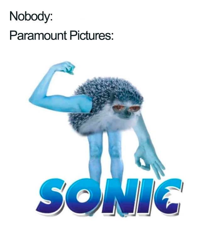 30 Hilarious Memes That Roasted The New Sonic Design So ...