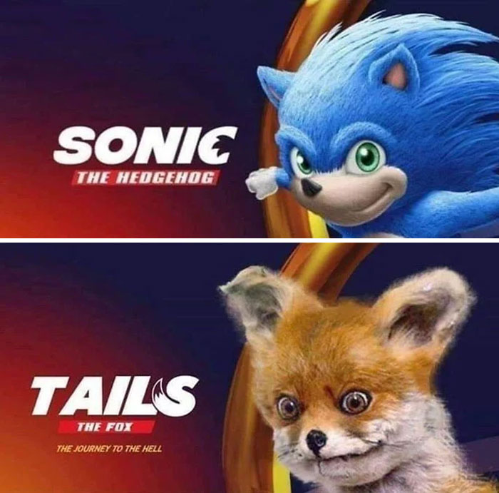 30 Hilarious Memes That Roasted The New Sonic Design So Bad The Creators Decided To Change It Demilked