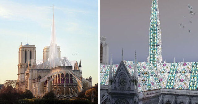 17 Artists Suggested Their Own Ideas For The Notre Dame