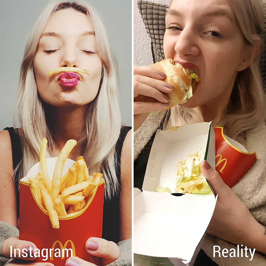Girl Compares Instagram Vs  Reality In 20 Pics | DeMilked