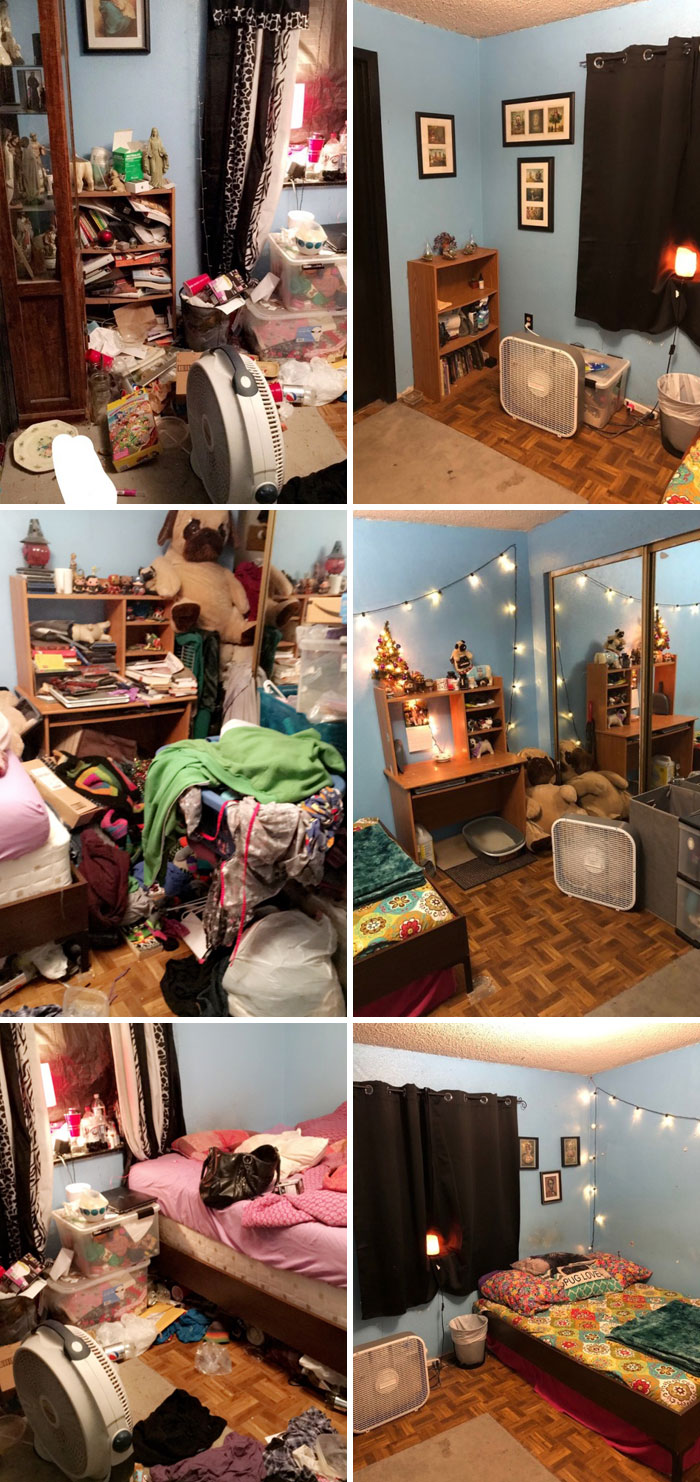 28 Bedroom Photos Of People Who Suffer From Depression ...