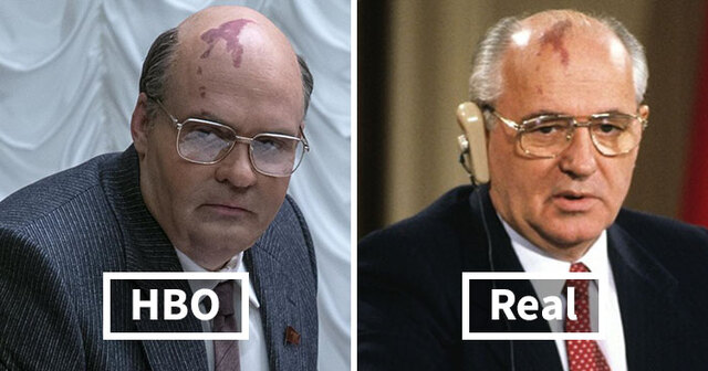 13 Pictures Of The Chernobyl Cast Compared To The Actual People