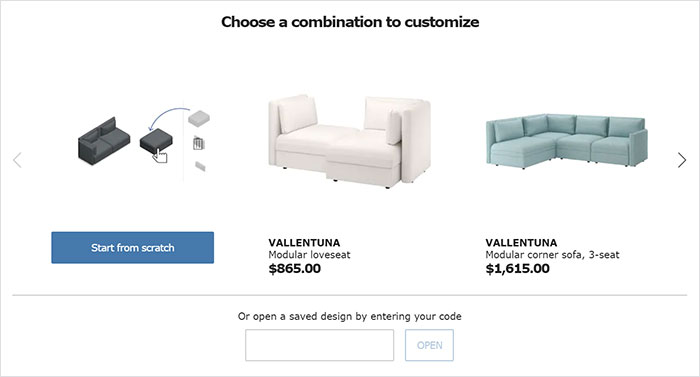 Ikea Lets Customers Design Their Own Couches Underestimates