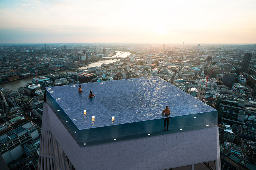 World S First Pool On Top Of A Skyscraper Could Give