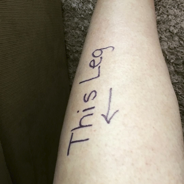 Doctor Finds Drawings On Patient's Body, Starts Laughing So