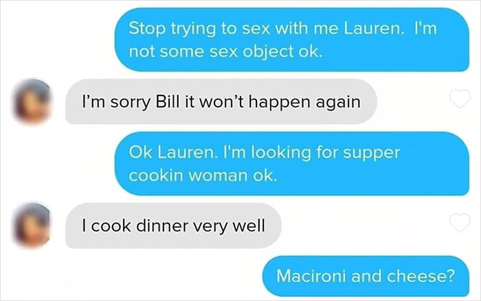 Someone Matched With 'Bill The Handyman' On Tinder And