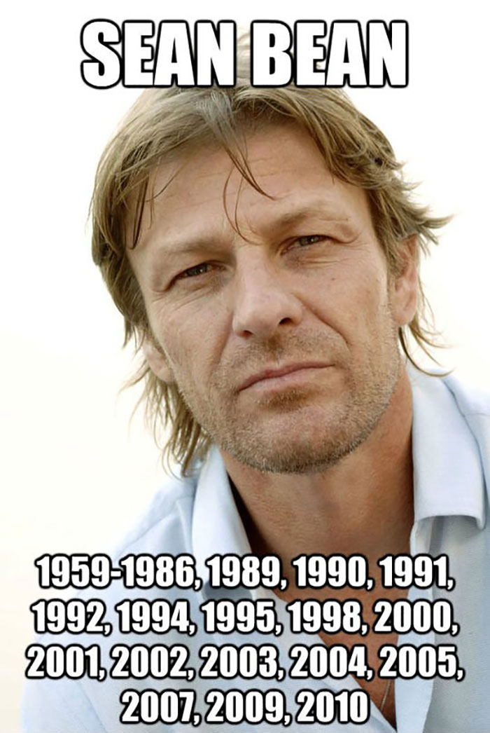 After Dying 23 Times On Screen Sean Bean Starts Rejecting Roles
