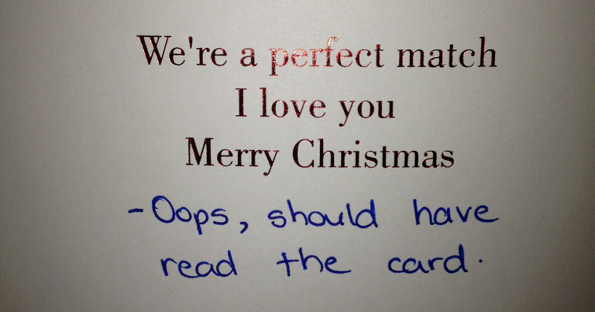People Are Sharing Their Improvised Greeting Cards And They're Hilarious (32 Pics)