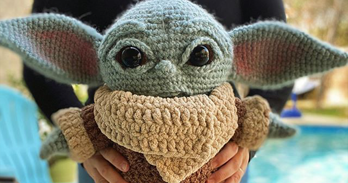 Woman Shares An Adorable Child Baby Amigurumi She