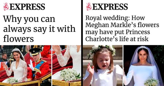 Image result for meghan markle catherine difference in headlines