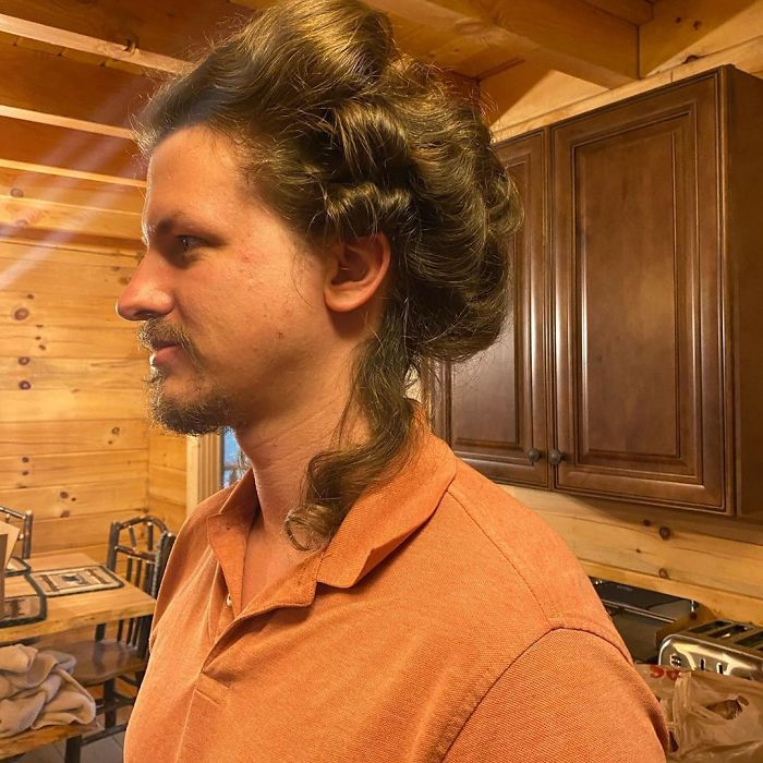 This Guy Let His Hairstylist GF Experiment With His Hair