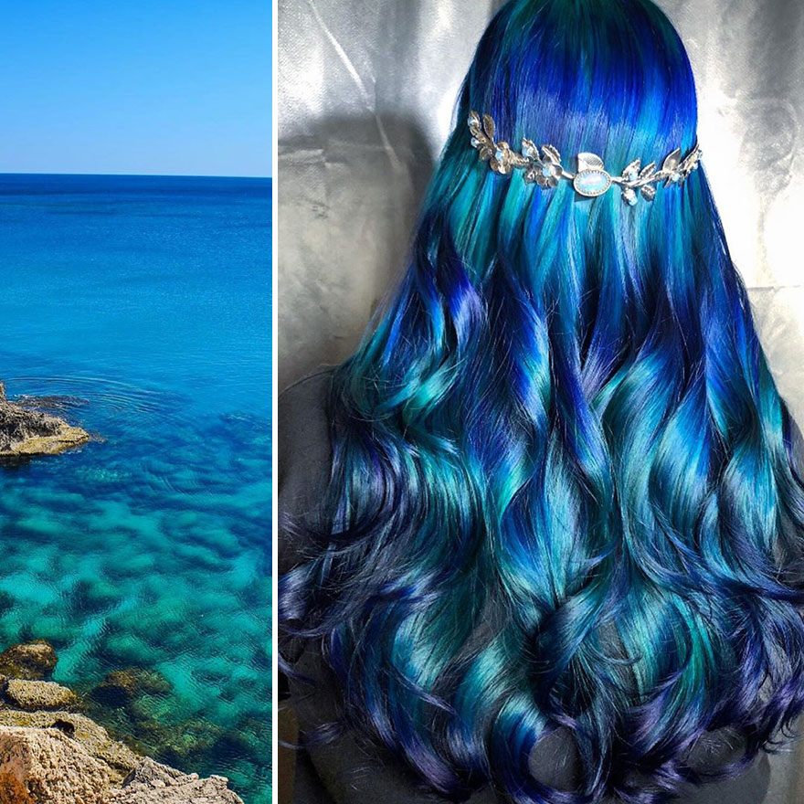 30 Nature-Inspired Hair Designs By Ursula Goff