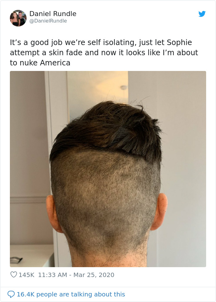 24 People Stuck In Quarantine Who Tried Cutting Their Own Hair And