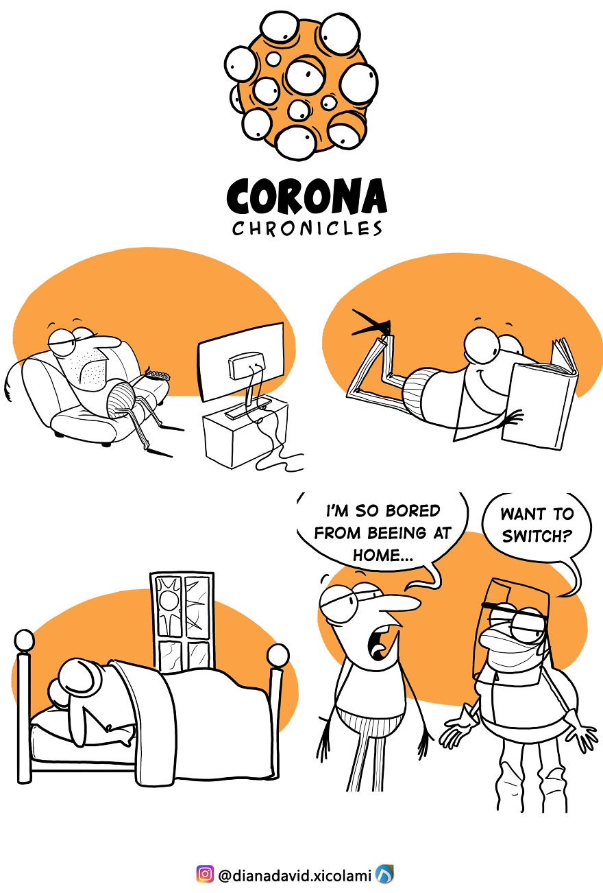 This Artist Illustrates What Covid 19 Is Putting Us Through In Funny Comics 25 Pics Demilked