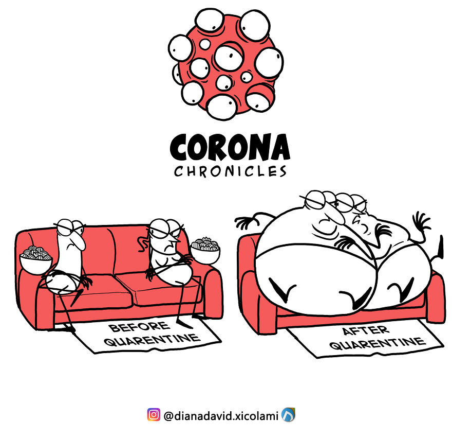 This Artist Illustrates What COVID-19 Is Putting Us ...