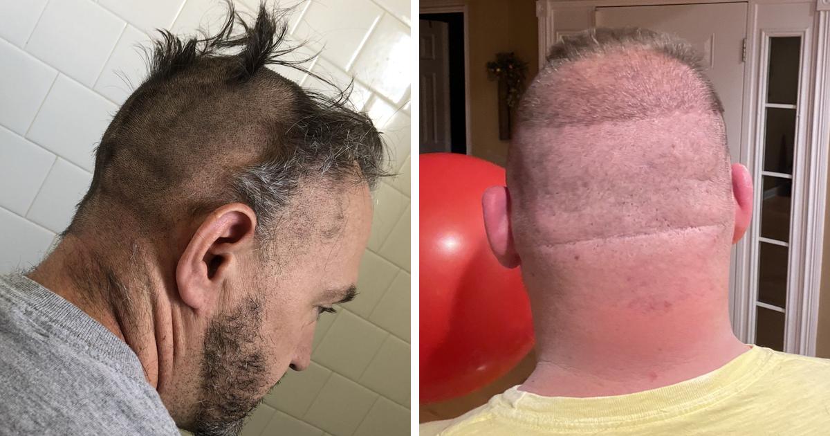 30 Times Quarantined People Tried Cutting Their Own Hair