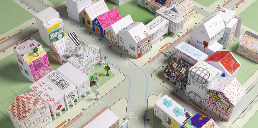 This Architecture Studio Released A Series Of Templates Children Can Use To Create Paper Cities During Lockdown