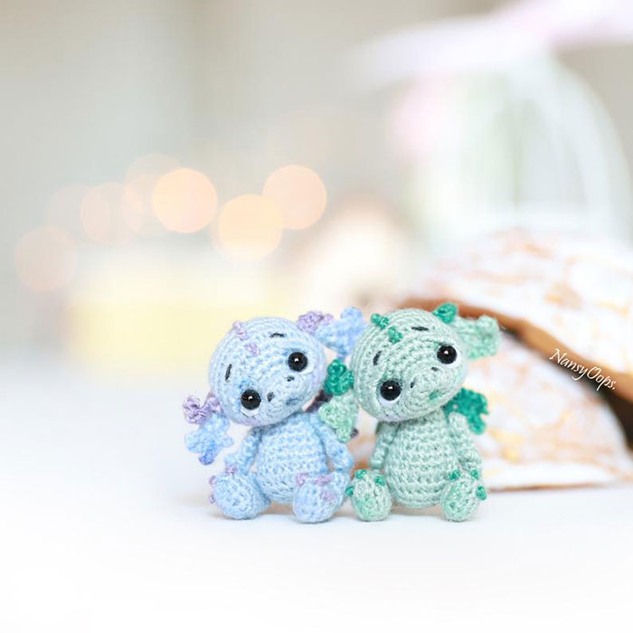Cute Little Dragon Free Crochet Pattern - Knit And Crochet Daily   700x700
