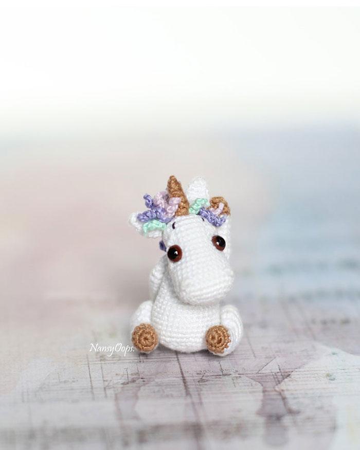Crochet patterns / Amigurumi pattern / Miniature toys by NansyOops | 875x700