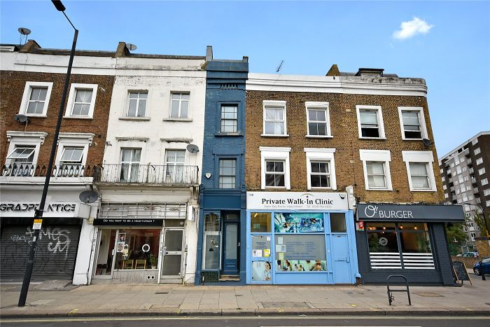 For $1.3M You Can Purchase The Narrowest Home In London, Measuring At Just 5 ft 5 in Across