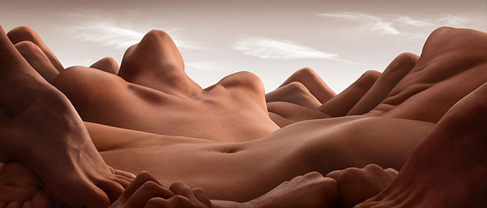 "This Photographer Creates Breathtaking ""Bodyscapes"" Using Only The Human Body (13 Pics)"
