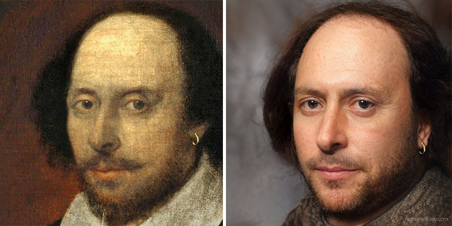 10 Well-Known Historical Figures Recreated Using Artificial Intelligence (New Pics)