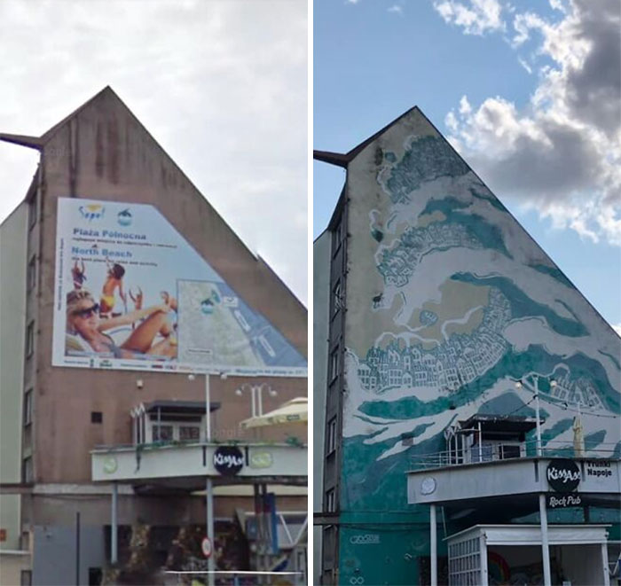 Poland Is Removing Flashy Ads And Banners From The Streets, And Suddenly The Cities Look Much More Aesthetic (20 Pics)