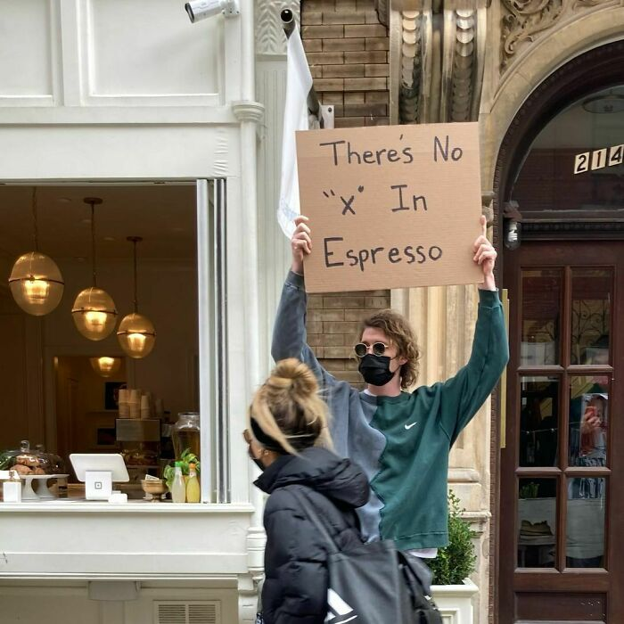 This Dude Creates Funny Signs To Protest Against Annoying Everyday Things (30 New Pics)