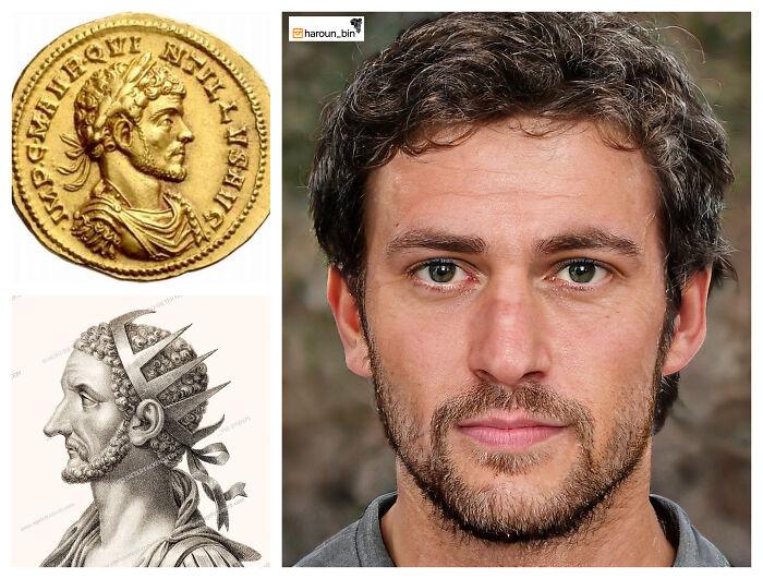 Reconstitution du visage de l'empereur romain Quintillus par l'artiste Haroun Binous - Cultea