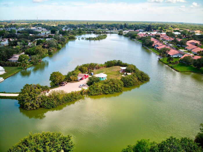 Florida Man Living On A Private Island Shares What His Life Is Like