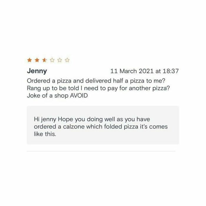 20 Of The Funniest Restaurant Owner Responses To Bad Reviews Shared By This Instagram Account