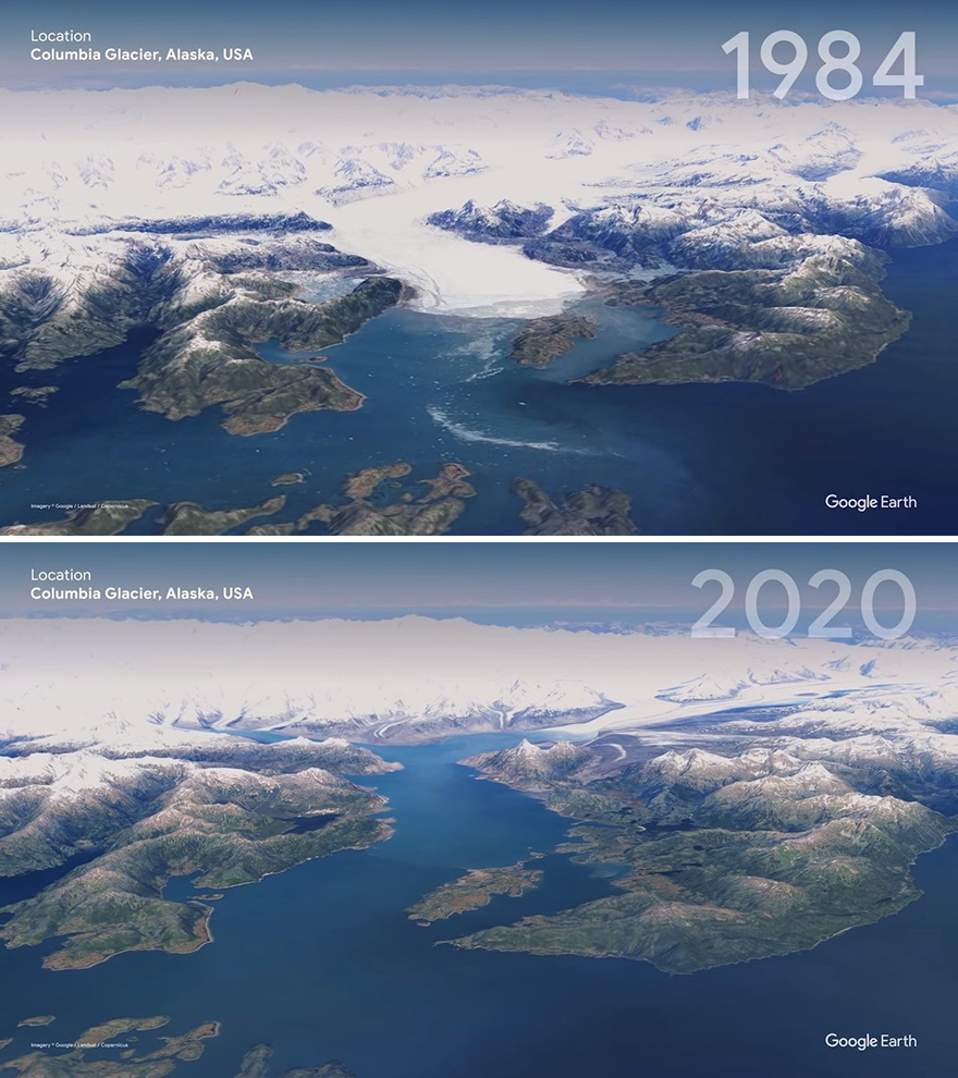 12 Before And After Satellite Images Showing How Much Humans Changed The Earth From 1984 To 2020