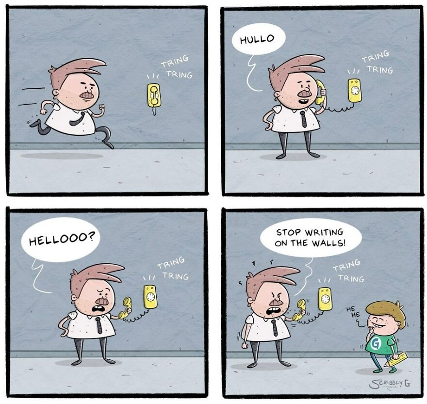 20 Funny Comics With Unexpected Endings By Scribbly G (New Pics)