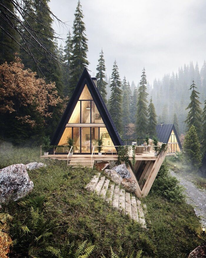 30 Incredibly Cozy Cabins From All Over The World, Shared In This Online Group