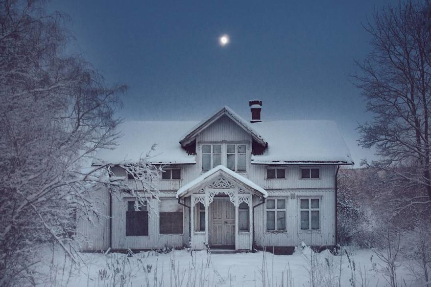 20 Breathtaking Photos Of Abandoned Scandinavian Houses By Photographer Britt Marie Bye